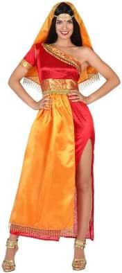 Atosa-22786 Disfraz Hindú, color naranja, M-L (22786): Amazon.es ...
