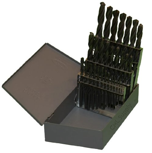 Industrial Usa Index - CML Supply TopLine Drill Bit Set 29pcs 1/16