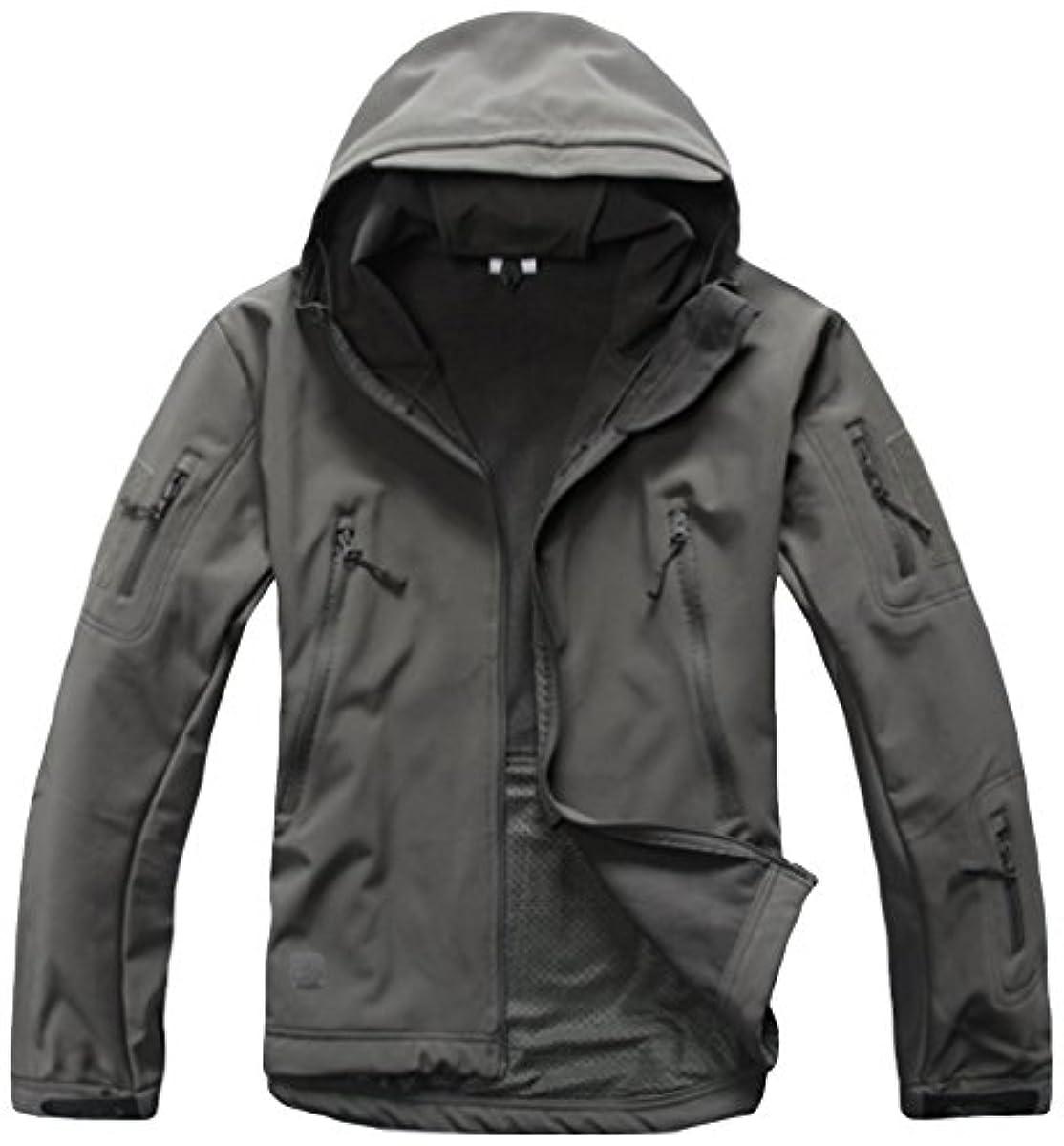 [해외] EARCHCO@아치 코어 【후드부】택티컬자켓 TAD스타일 재킷 방수해 방지 풍방한 아웃도어 따스한 다기능 점퍼