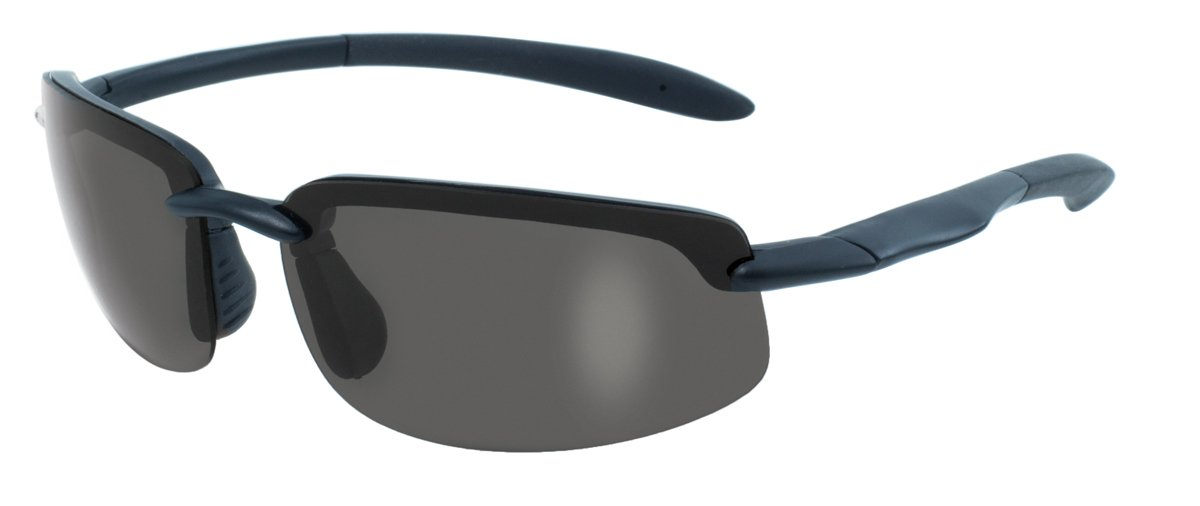 BlueWater Polarized Ty-Phoon Series Sunglasses with Black Frames Global Vision Eyewear Corp BlueWater GR