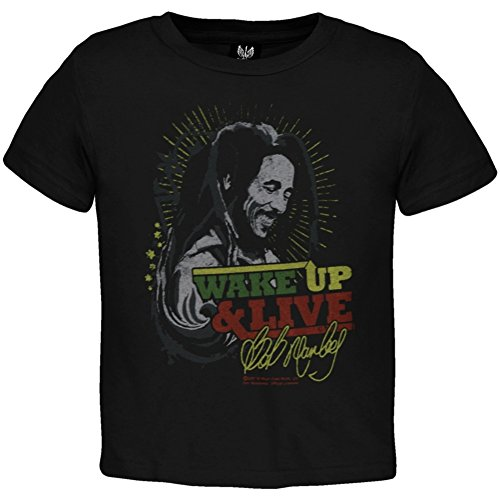 Tapestry Tee (Bob Marley - Baby-boys Wake Up Infant T-shirt Small Black)