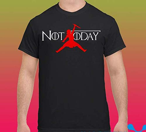 d20b4cacc Amazon.com: Arya Stark GOT Jordan not today T-shirts, Sweatshirts ...