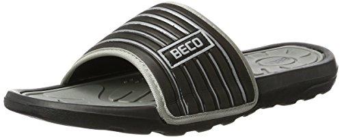 Pantoletten Mules Pantoletten Beco silver Mules grey silver silver grey Beco Beco Pantoletten Mules gxFp4F