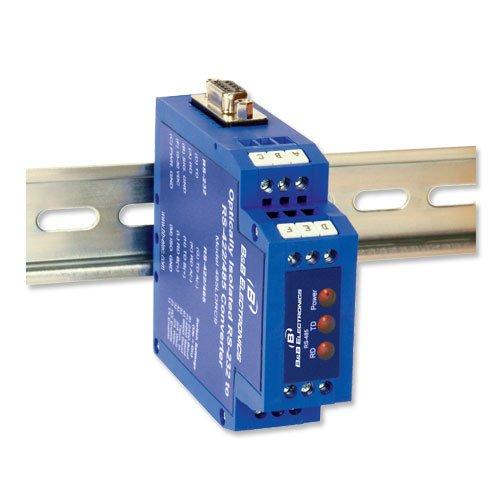 RS-232 To RS-485 Din Rail Mount Converter by Quatech