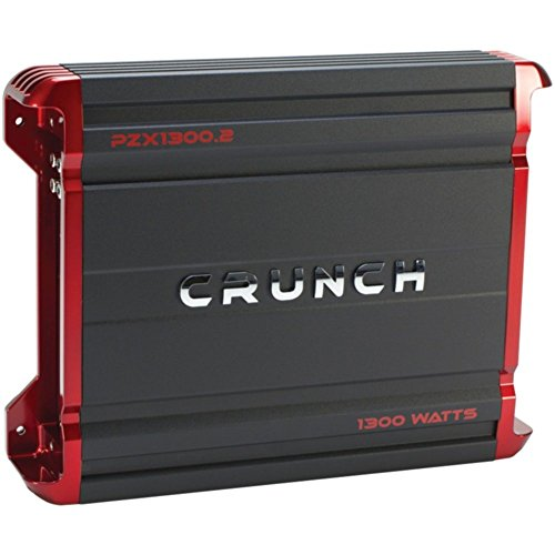 Crunch PZX1300.2 POWERZONE 2-Channel Class AB Amp (1,300 ...