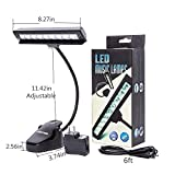 Lightess Dimmable Music Stand Lights Clip on Book