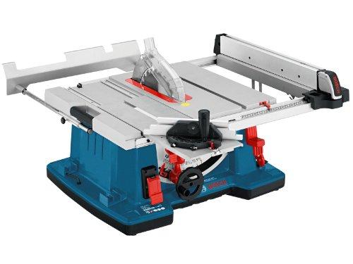 Bosch GTS 10 XC Professional Tischkreissäge, 2.100-Watt-Motor mit Motorbremse, Schnitthöhen bis 79 mm, Sägeblattdurchmesser 254 mm, Karton, 0601B30400