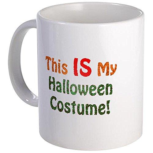 CafePress This Is My Halloween Costume! Mug Unique Coffee Mug, Coffee Cup]()