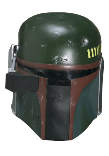 Collector One-Piece Boba Fett Helmet Costume Accessory -