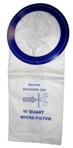 Windsor Vac Pac Backpack - DVC Vacuum Bags For Pro-team10 Qt. Backpack Vacuums - 10 Pack