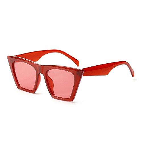 De Gato Rojo Mujer Uv400 De De Hombres TIANLIANG04 Gafas red Ojo Para Sol De Gafas Mujeres wqH6vItyxv