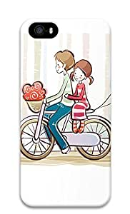 IPhone 6/6S Case Cycling Couple Illustrator 3D Custom IPhone 6/6S Case Cover wangjiang maoyi