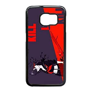 Personalized Durable Cases Samsung Galaxy S6 Edge Cell Phone Case Black Ehgyn Kill La Kill Protection Cover