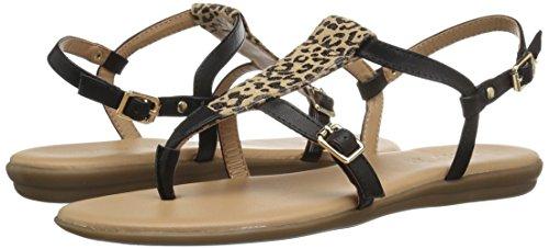 Gladiador Aerosoles de de Combo Obstaculización para Curso Leopardo Mujer Sandalia Leopard Rqn6grXn