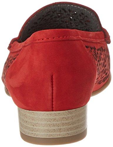Jenny Damen Atlanta Mokassin Rot (Rot)