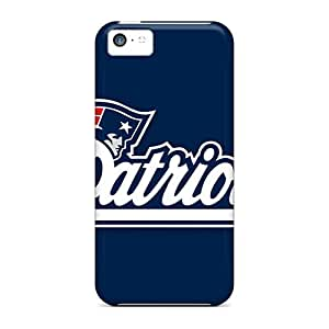 For Iphone 5c Premium Tpu Case Cover New England Patriots Protective Case