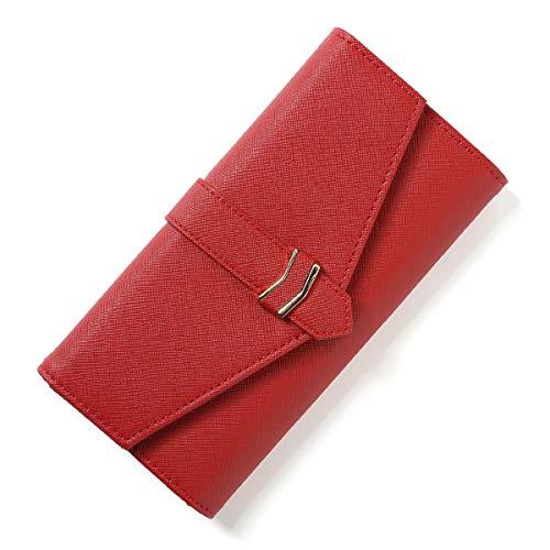 RAINYGO Wallets for women Trifold RFID Blocking Multi Cards Womens Wallet Organizer Clutch ()
