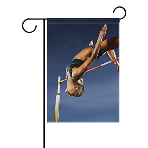 Double Joy Sports Women Jumping Rings Athletes Person 12x18