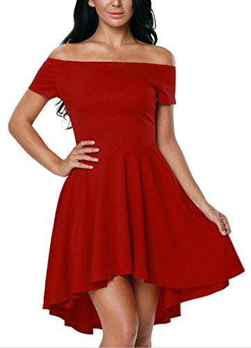 Kurze abendkleider rot