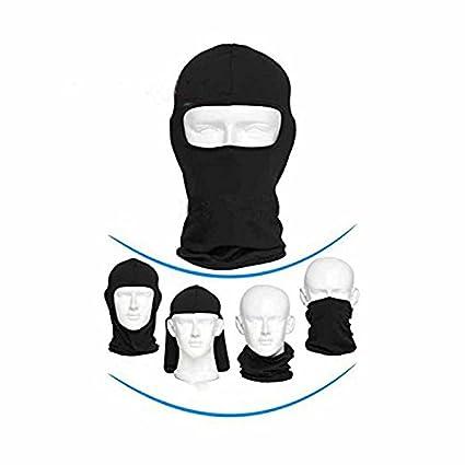 ZN Doux Masque de protection thermique Cagoule sous casque respirant Cyclisme Masque Masque de sports