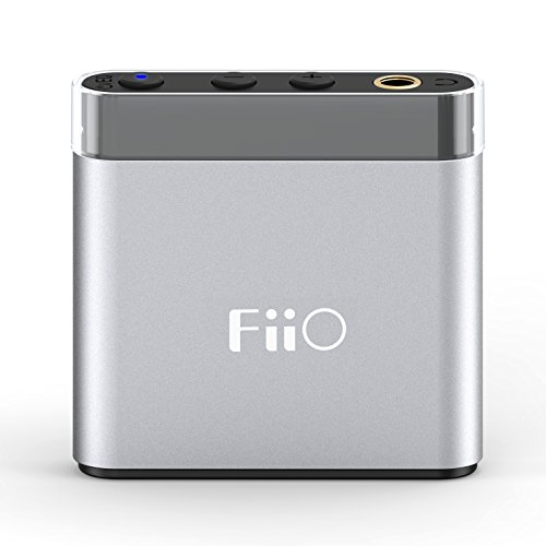FiiO A1 Silver Portable Headphone Amp A1 (Best Bluetooth Headphone Amp)