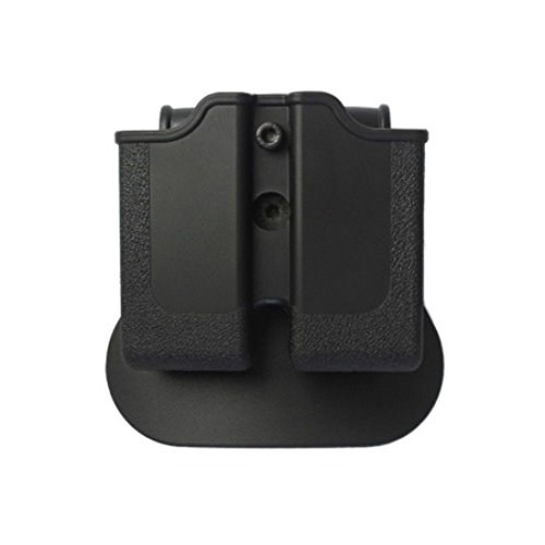 IMI Defense Glock 17 / 22 / 28 / 31 Tactical Combo Concealed Roto Holster + Double Mag Magazine Pouch Kit 2