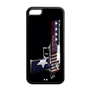 4s Phone Cases, Gun Hard pc hard Rubber Cover Case for iphone 4s