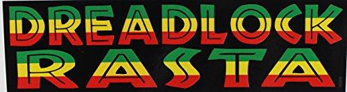 C&D Visionary Reggae Dreadlock Rasta Sticker