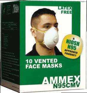 Dust Masks Exhalation Valve Respirators