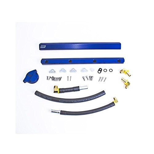 BBK 86-93 Mustang 5.0 High Flow Billet Aluminum Fuel Rail Kit (5010)