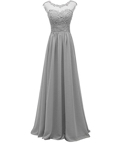Damen Beauty Silber Kleid Damen Beauty KA KA Silber KA Beauty Kleid O4OEvwx