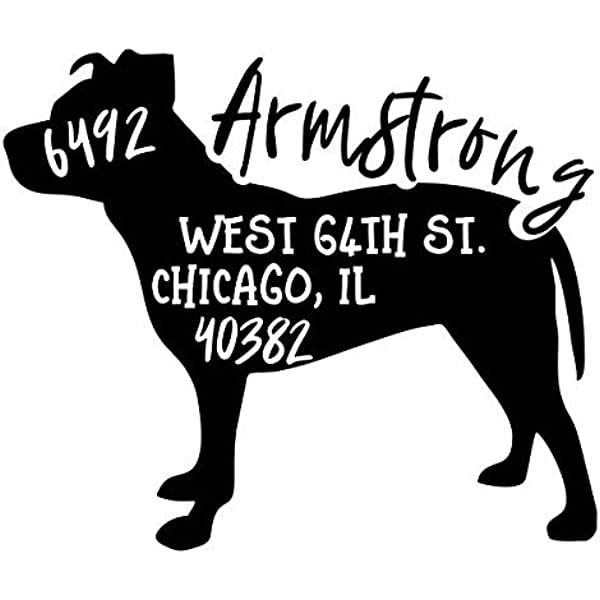 Address stamp dog \u00abPUDEL 03\u00bb with personal address and motif-stamp name wooden breed dog salon poodle poodle breeding club