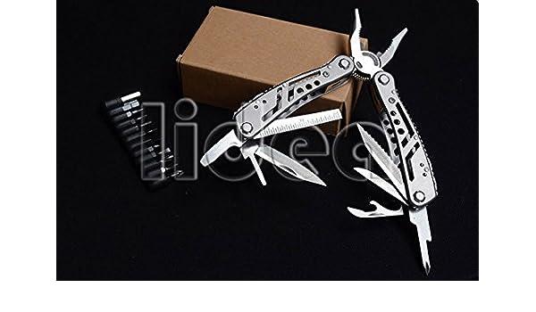Survival Alicate Knife Screwdriver Folding Hand Utility Practical Tools Multifunctional Multitool Pliers Herramientas HK HW-56 - - Amazon.com