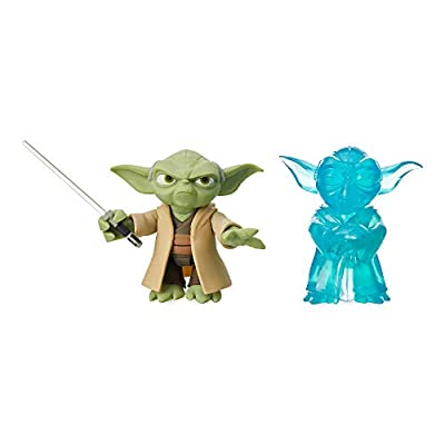 Star Wars Yoda Action Figure Set Toybox No Color