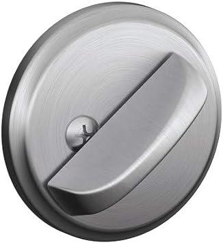 Satin Chrome Schlage Lock Company Schlage B80 626 12-287 10-116 134 N N SL One-Sided Deadbolt