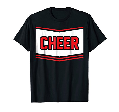 Cheerleader Halloween Costume Shirt Cheerleading Kids Gift ()
