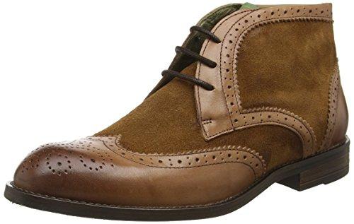 NOBRAND Ankle Braun Boots Men Cuero Whiskey rx4rZwqp