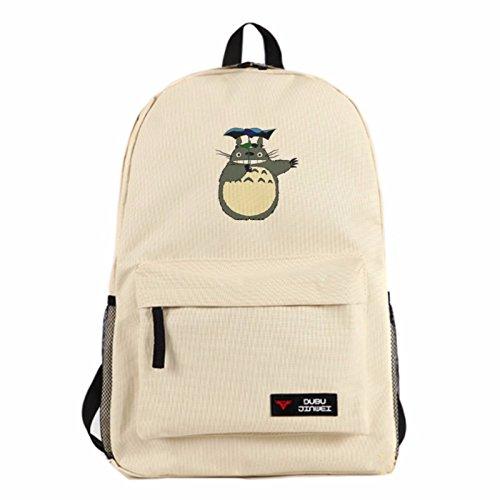 rare Schultertasche Tasche Shoulder Bag Rucksack reisetaschen Katze Bräunen Totoro new