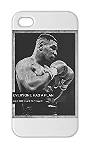 Mike Tyson Everyone Has A Plan Till They Get Punched Iphone 5-5s plastic case