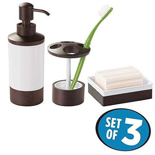 espresso bathroom set - 4