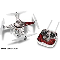 Designer Skin for DJI Phantom 3 Pro/Advanced Drone and Controller - Bones White