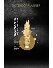 Notebook Planner The Expanse Rocinante Ship Swea: 6x9 inch, Simple, PocketPlanner, Personal Budget, Tax, Organizer, Over 100 Pages, Appointment