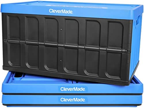 CleverMade Collapsible Storage Bins Lids