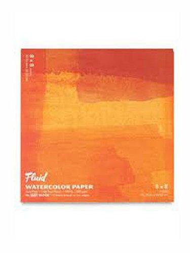 (Global Art Fluid Watercolor Blocks 8 in. x 8 in. block [PACK OF 2 ])