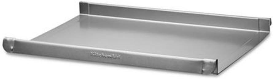 KitchenAid Easy Glide Baking Sheet, 38x27x2.5 cm, Silver