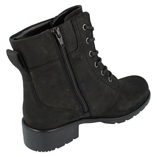 Clarks Orinoco Spice Damen Boots Schwarz