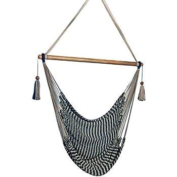 Amazon Com Handmade Hanging Rope Hammock Chair All