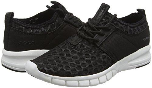 Femmes De Salinas Chaussures Noir Gola Course noir Blanc gqx7dwfv