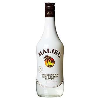 Licor Malibu - Ron con sabor de coco, 18%, 70 cl