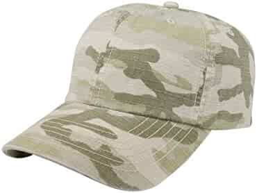 a89f28535f8 MG Unisex Low Profile (Unstructured) Washed Camouflage Cap-9031C